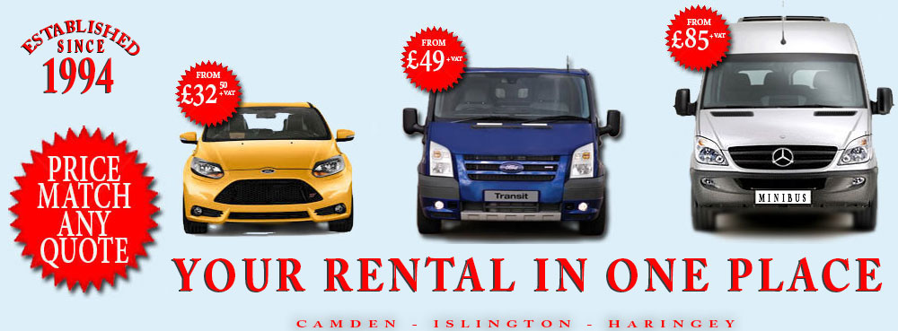 North London Car, Van, Minibus Hire