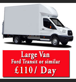 luton van hire north london